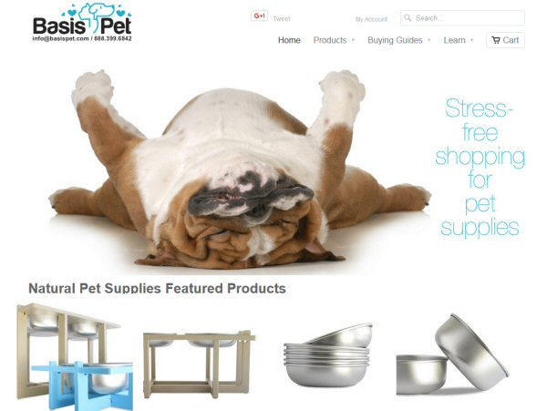 Pet Products Made in America by Basis Pet