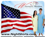 Wittmann Textiles Made in USA Sleepwear & More